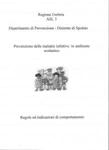 malattie infettive in ambiente scolastico