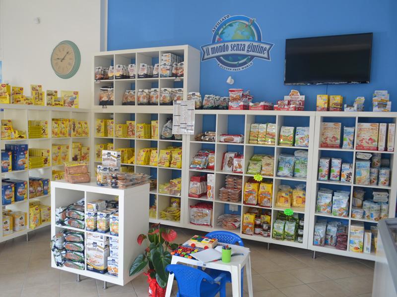 Negozio senza glutine a Terni